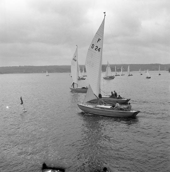 """Enligt notering: """"Segling regatta""""."""
