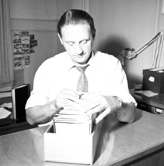 """""""Passbyrån den 4 juli 1958"""""""