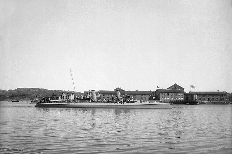 Norsk torpedbåt i Marstrand