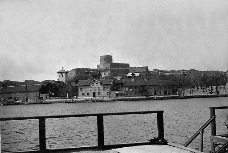 Vy över Marstrand 1890-talet