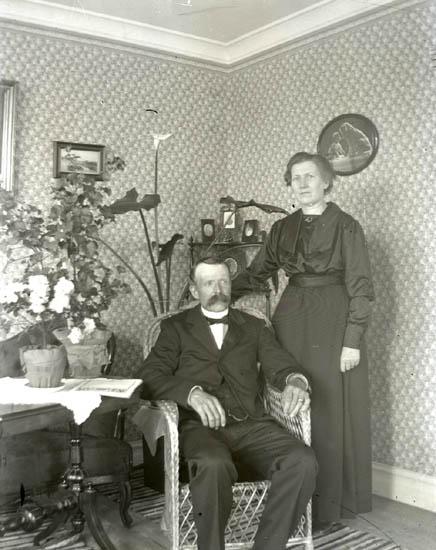 Makarna Adolf och Hulda Nilsson, Marstrand