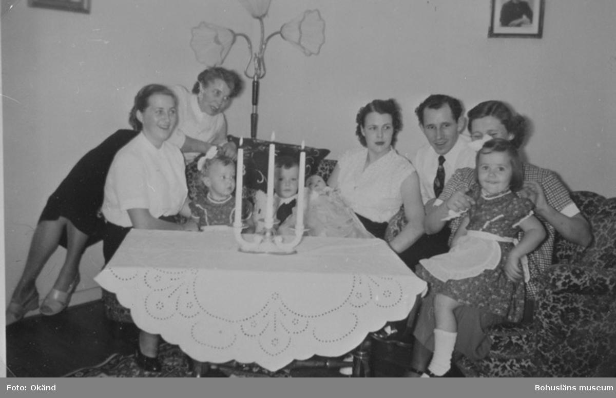 Första lägenheten på Tallvägen 1954