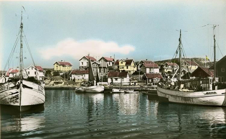 Mollösunds hamn 1945