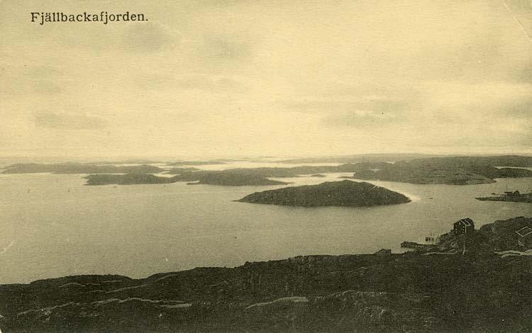 Fjällbackafjorden.