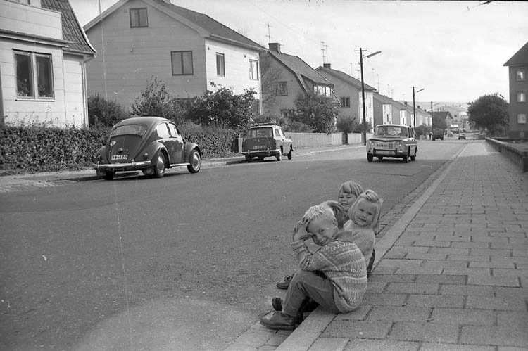 Valbogatan i Lysekil 1960-tal.