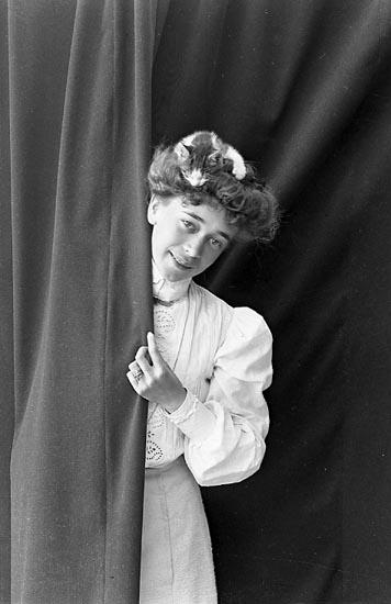 "Enligt fotografens journal nr 1 1904-1908: ""Stiberg, Fr. Karin Stenungsund""."