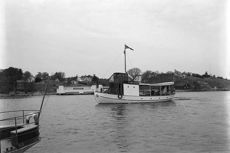 Motorfärjan  Hakefjord 1934