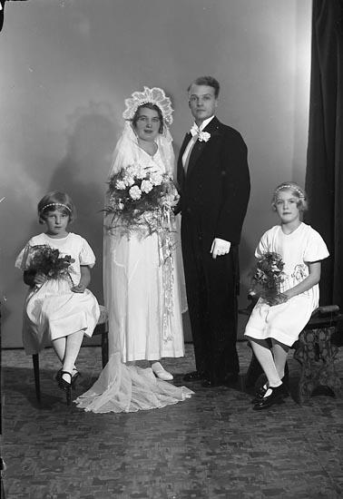 "Enligt fotografens journal nr 6 1930-1943: ""Jansson, Herr Algot, Nissaström, Johansfors""."