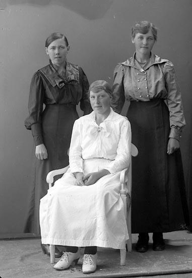 """Enligt fotografens journal nr 4 1919-1922: """"Larsson, Berta Vinningstorp Jörlanda""""."""