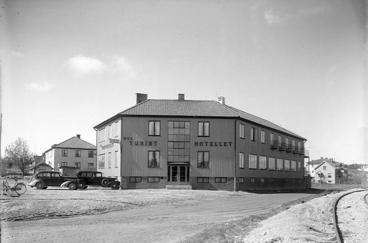 """Enligt fotografens journal nr 6 1930-1943: """"Turisthotellet Nya Här""""."""
