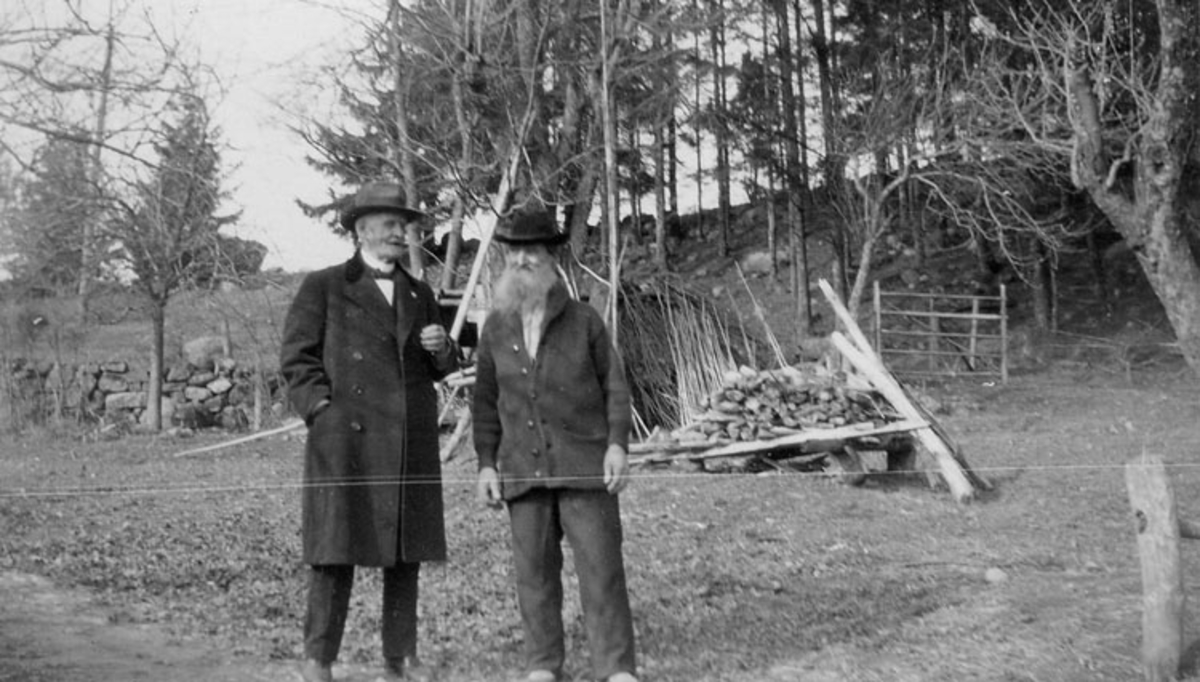 Fabrikör J. A. Andersson och Erik Niklasson i Håven, Lane Ryr