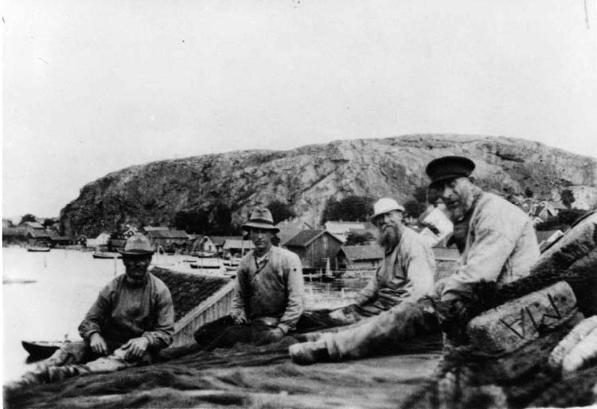 Vadlag i Fjällbacka 1913