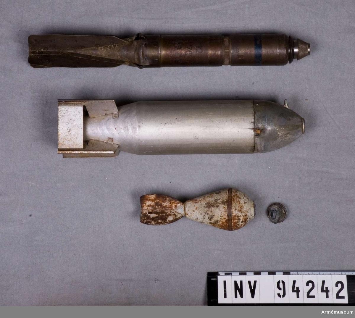 Diverse granater