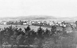 """Text på negativets framsida: """"Villaparti från Solängen Mölnd"""
