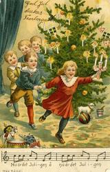 Notering på kortet: Nu är det Jul i-gen å nu är det Jul i-ge