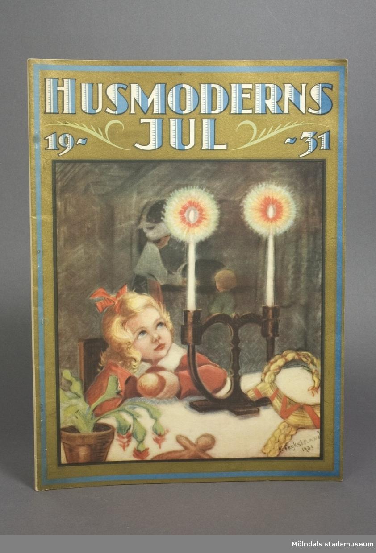 Husmoderns Jul från 1931.