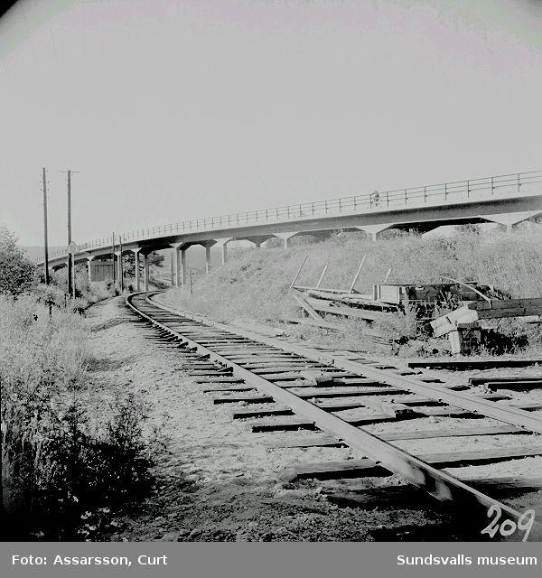 Viadukten vid Bergsåker.