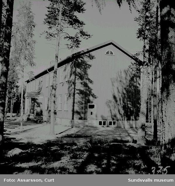 Skola i Kölsillre, Haverö.