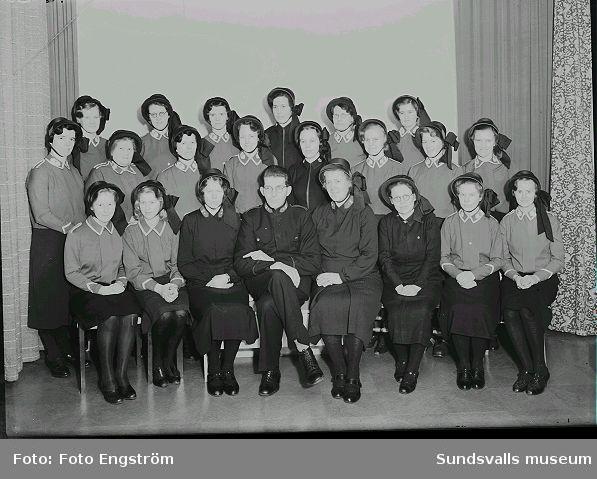 Frälsningsarméns sångkör, porträttt.