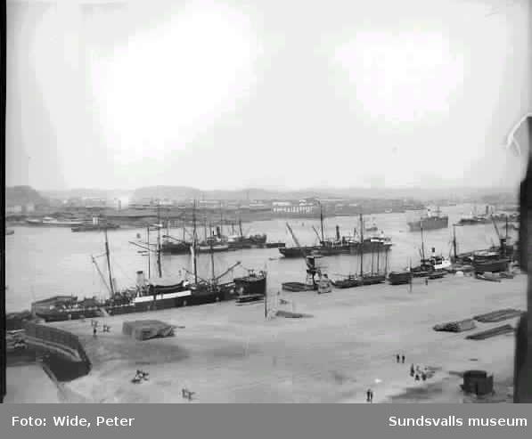 Troligen hamnen i Trondheim.