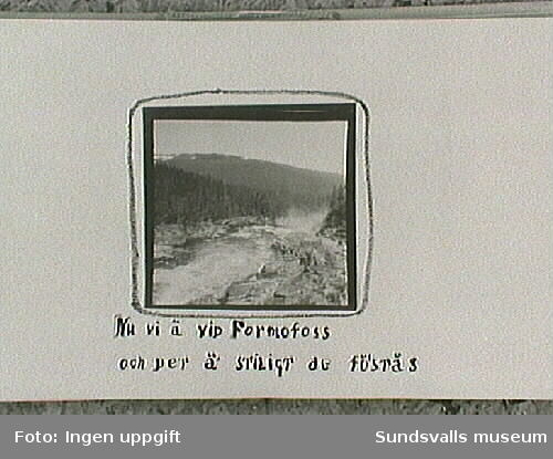Amatörfotografiet från resa till Trondheimsommaren 1915.