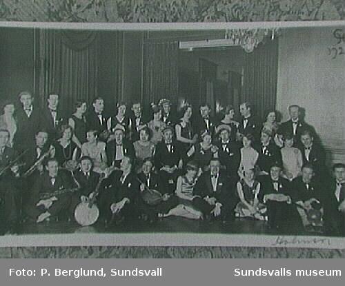 Repro av fotografiet ur Medelpads Scoutdistrikt,Sundsvall arkiv.