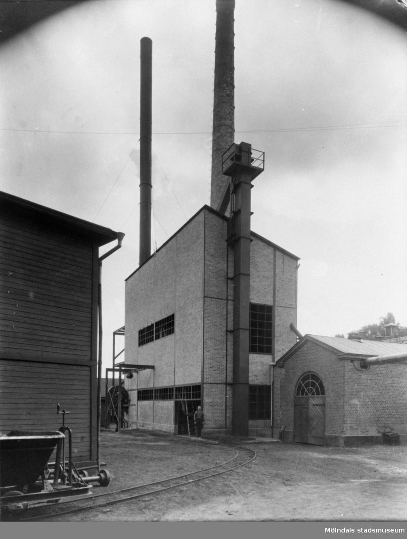 Panncentralen vid Krokslätts fabriker.