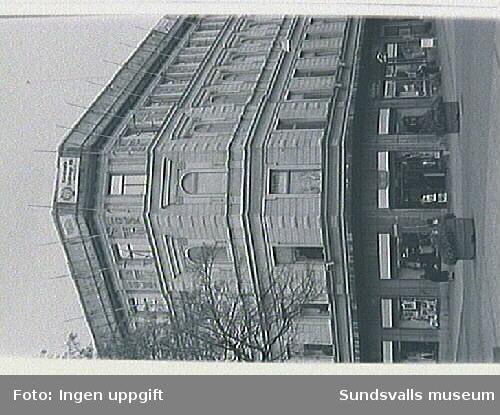 Bild 10-11Kiosken i Esplanaden med fast. i bakgrunden.
