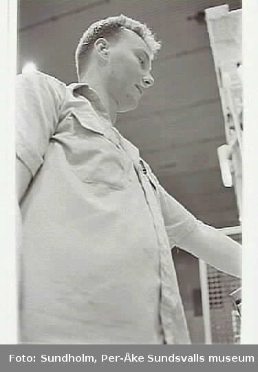 Dokumentation av PM 4 - Pappersmaskin 4, skiftlag 3, inom ramen för SAMDOK:s Trä- och papperspool.