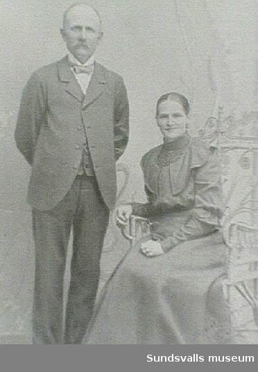 Lars Olof och Hulda Öman, morföräldrar till Rut Öman.