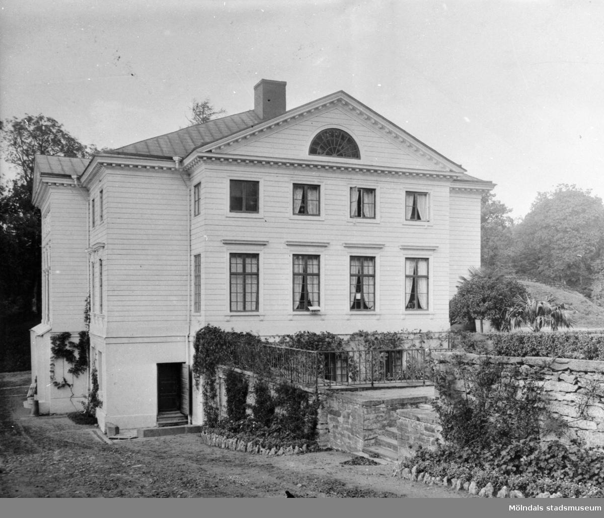 Gunnebo slotts östra fasad, 1930-tal.
