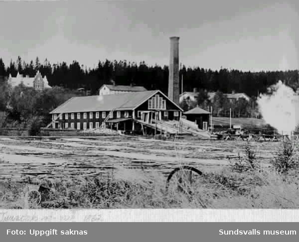 """""""Tunadals sågverk 1862"""""""