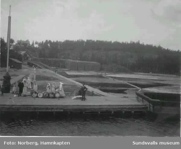 Kajen vid Gustavsberg.