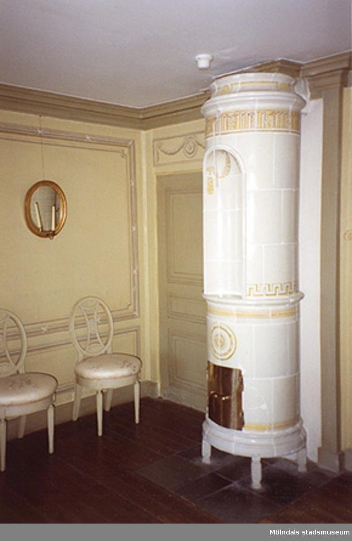 Västra förmaket på övre våningen (rum 43), cirka 1993.