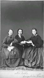 Fru Johnson med barn; Jacob Edling fr Bräcke; drottning Lovi