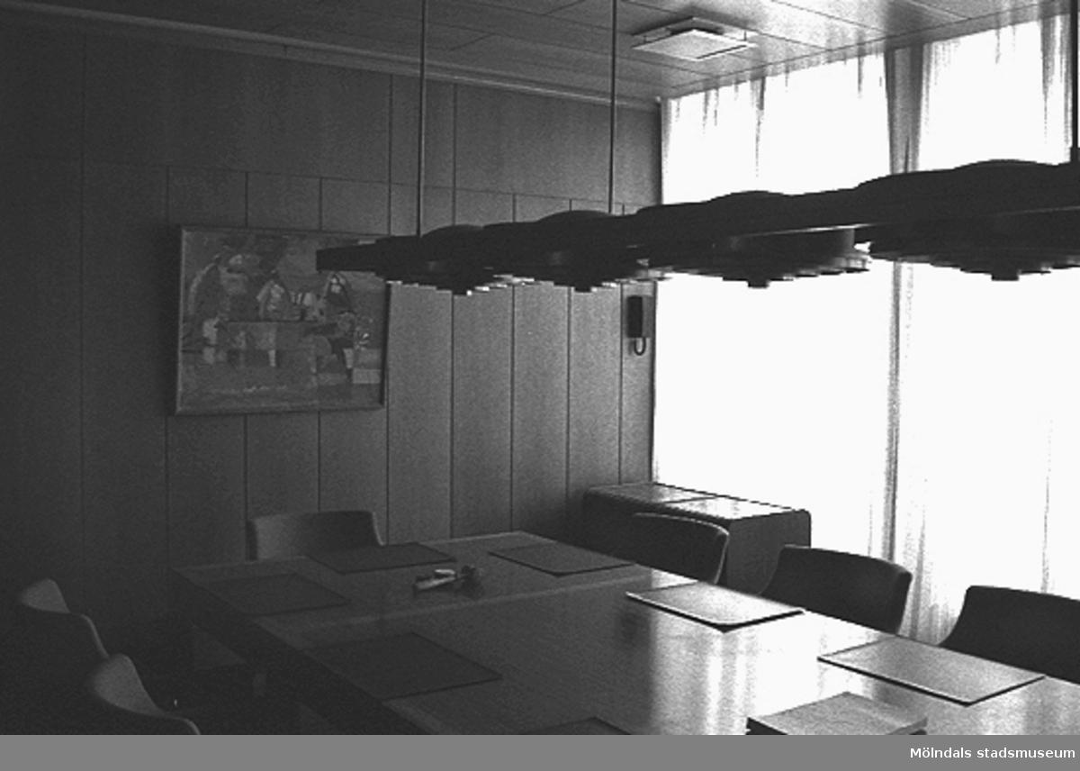 Mölndals stadshus, rum 226, juni 1993.
