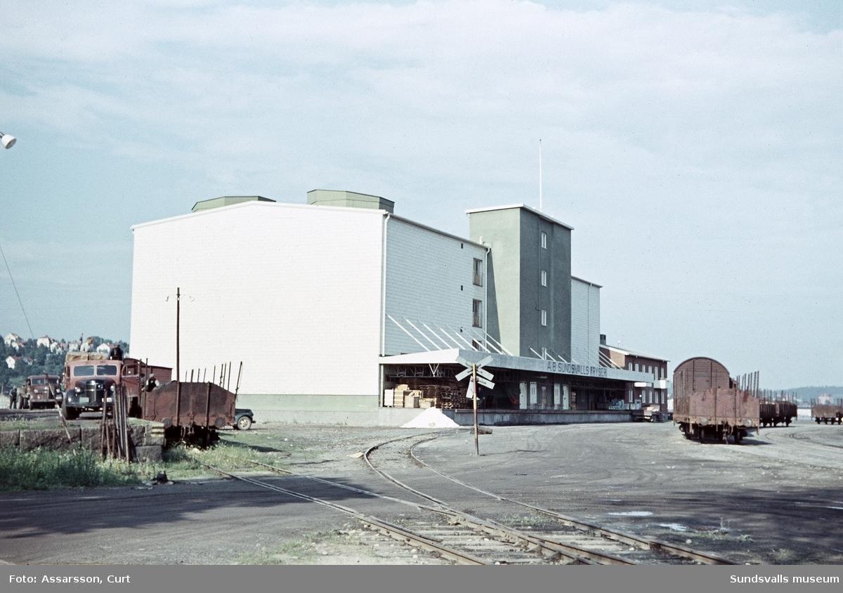 Fryshuset i Sundsvalls hamn.