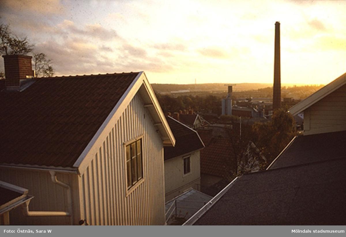 Stadsvy över Kvarnbyn, 1986.