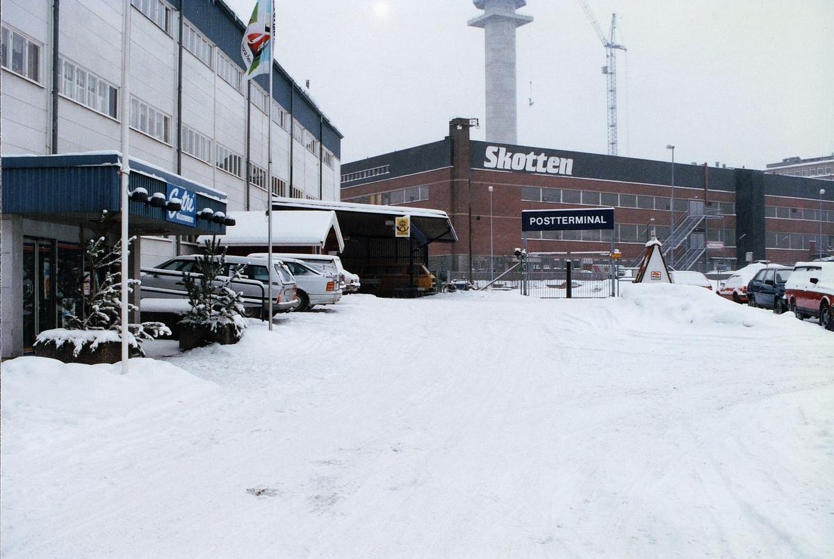 Kassaexpeditionen Stockholm-Hammarby Postterminal 104 89 Stockholm Hammarbyvägen 66