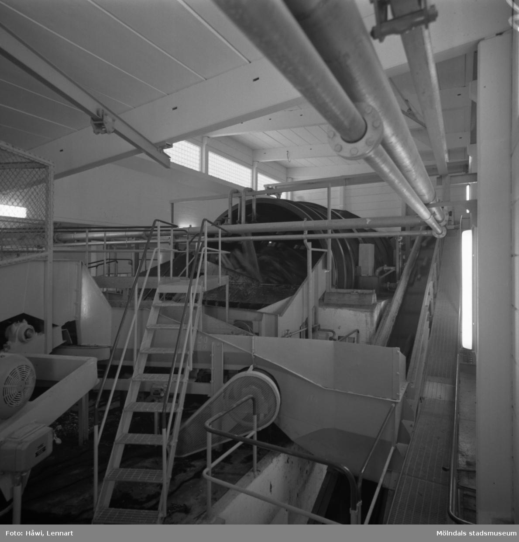 Nya renseriet på Papyrus i Mölndal, 10/8 1961.