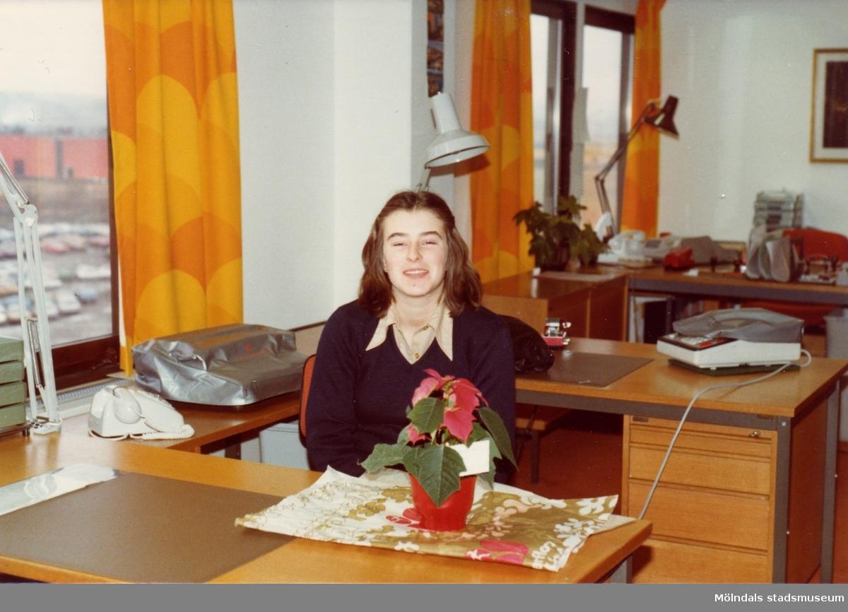 Lindometjejen Karin Gustafsson och givaren Ilse var klasskamrater i DK2e på Fässbergs gymnasium. De gjorde sin 2-veckorspraktik i Gulinshuset i Sisjön.