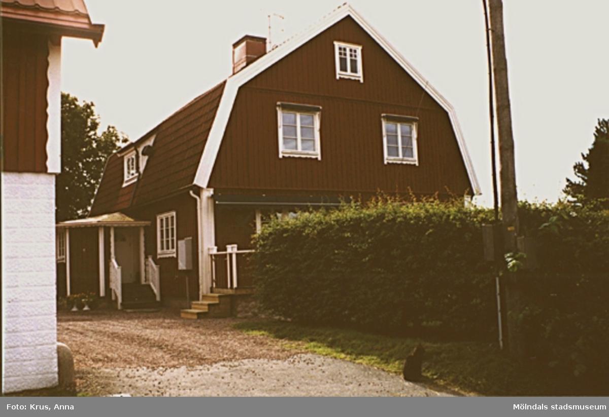 Fässberg 1:65. Boningshus sett från väster.