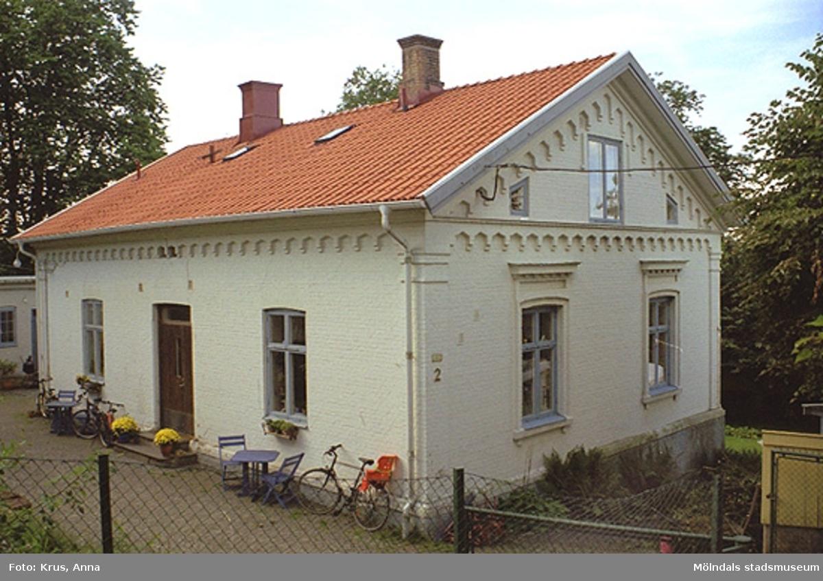 Ett stenhus i Kvarnbyn.
