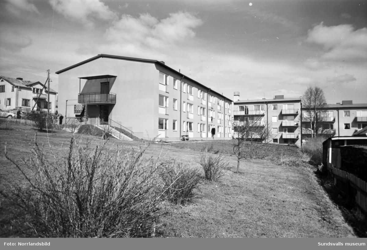 Pensionärsbostäder vid Mellangatan i Timrå.