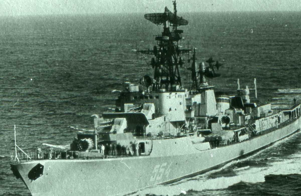 Russisk fartøy av Kanin - klassen med nr. 554.