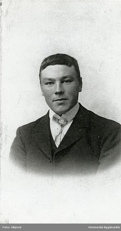 Eirik (Hornet) Torset, fødd 1892. Han budde i søre Hødn i Hemsedal.