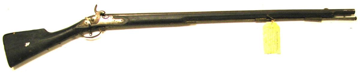 Form: 15 lødigs perkussiongevær med 3 kanta 23 15: bajonet, frå 1841.Opprinneleg som flintelås model 1769, forandra til perkussion 1841. Gåve frå Det Norske Hovudarsenal ved Felttøimesterekspedition i henhold til Forsvarsdepartementets skrivelse av 19 april 1940 .