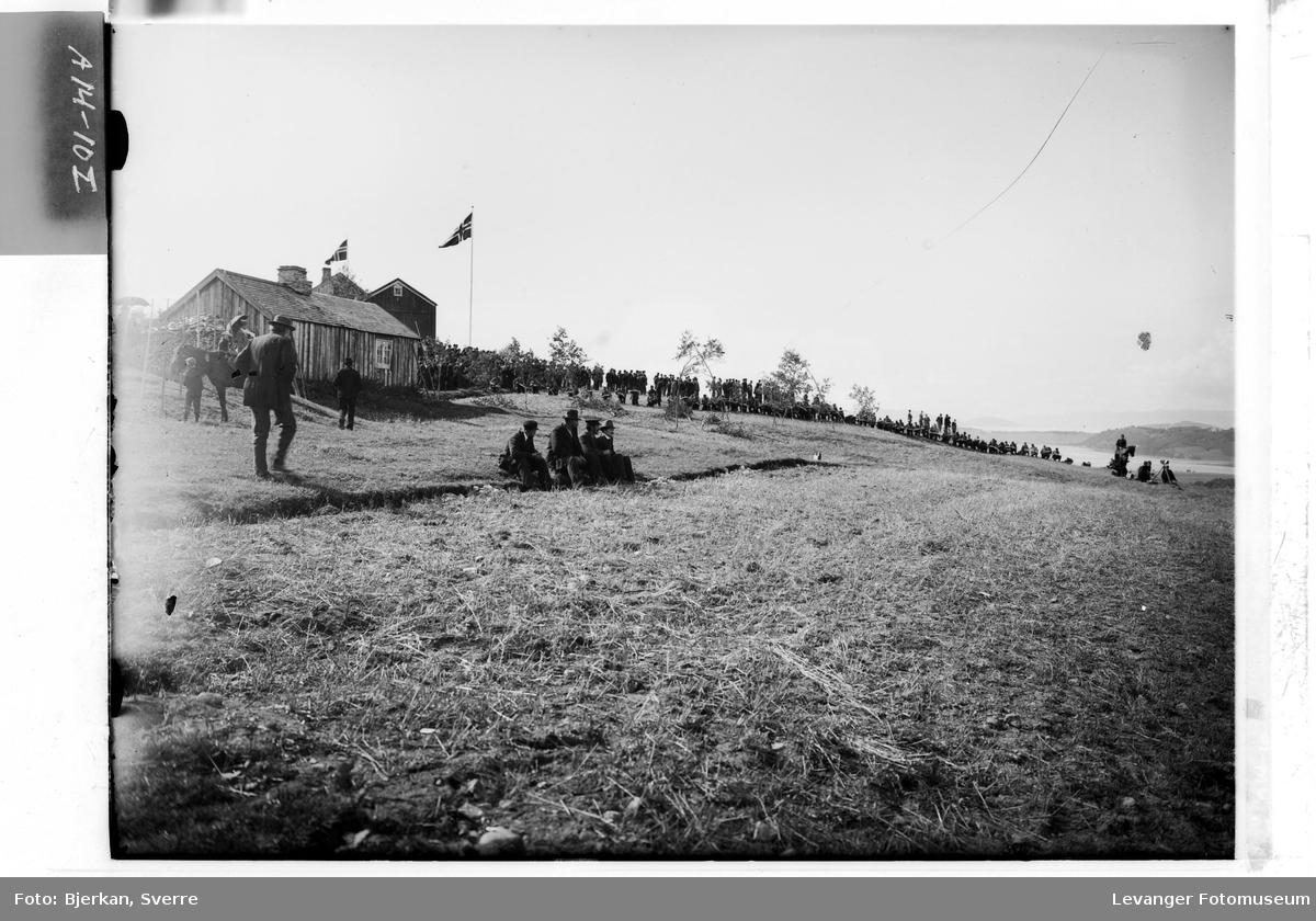 Bilder fra militær øvelse i Verdal høsten 1905 VI