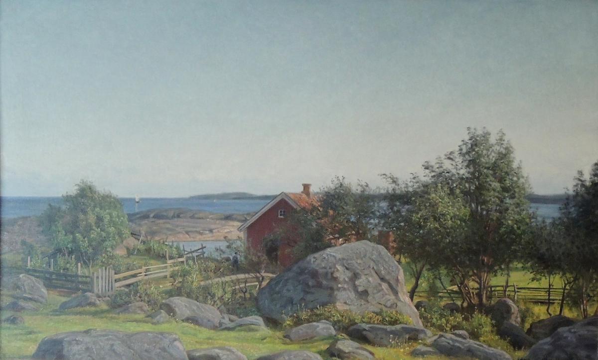 Skjærgårdslandskap.