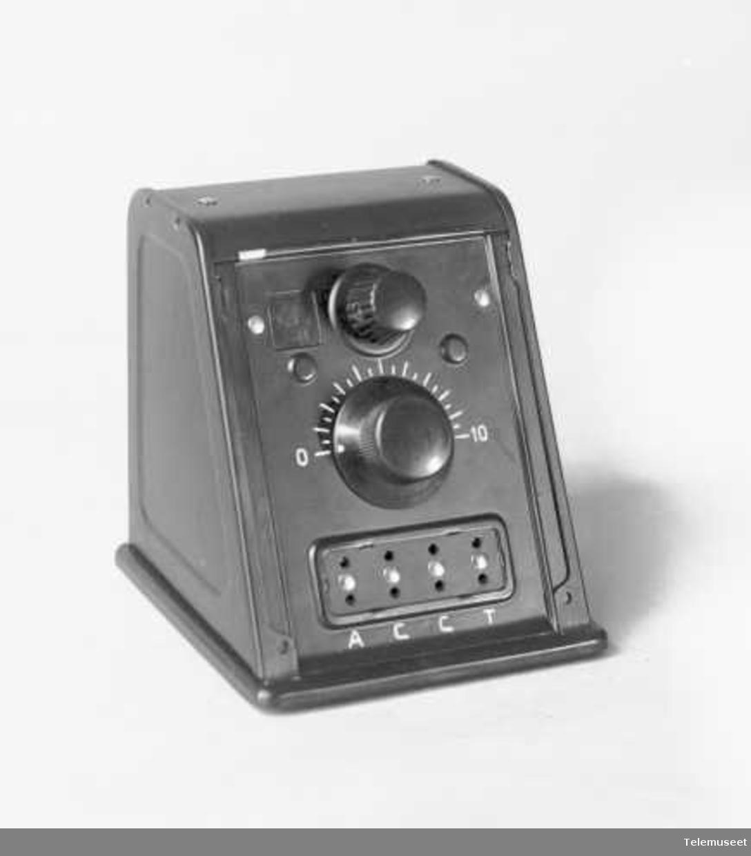 radioapparat, krystallapparat med multidetektor, uten bøyle og